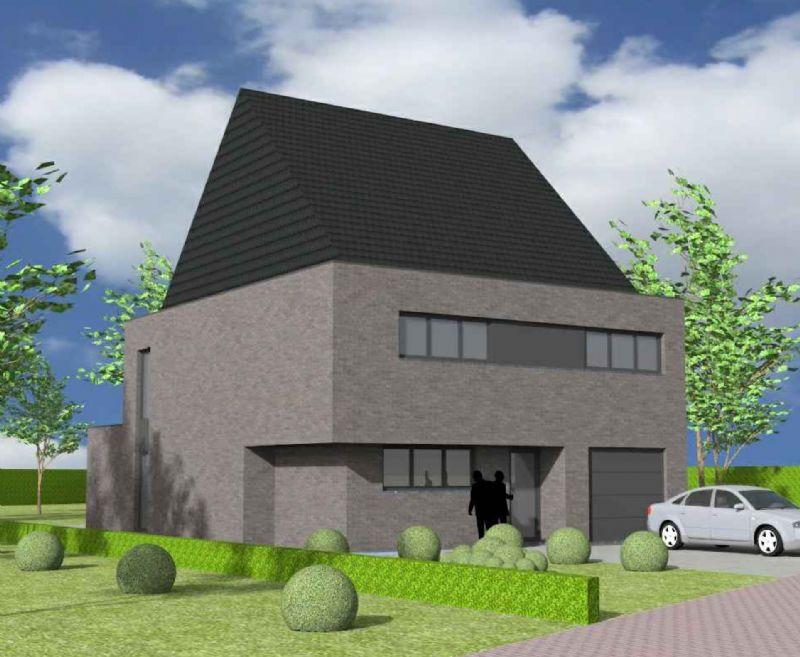 Wevelgem: Nieuw te bouwen alleenstaande woning