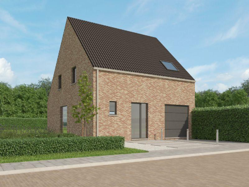 Zwalm: Nieuw te bouwen halfopen woning