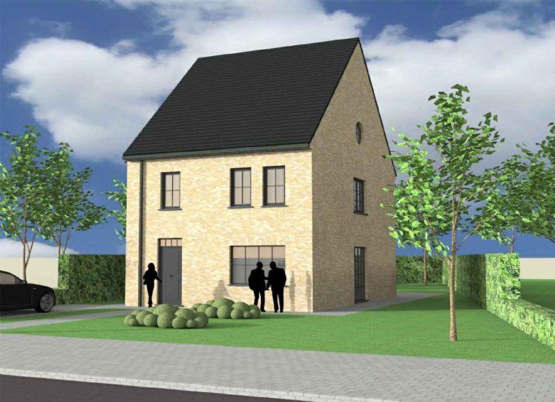 Dikkelvenne: Nieuw te bouwen alleenstaande woning