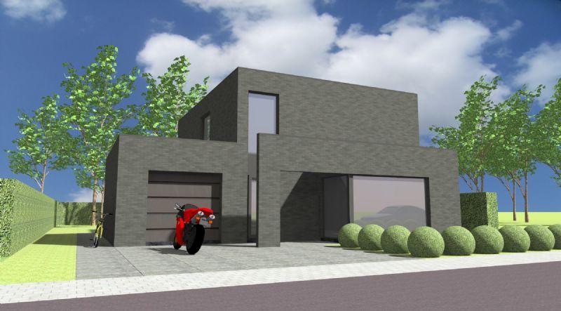 Harelbeke: Nieuw te bouwen alleenstaande woning