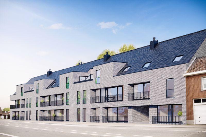 Beveren-Leie (Waregem) - Nieuwbouwproject Residentie de Castor - Luxueuze appartementen