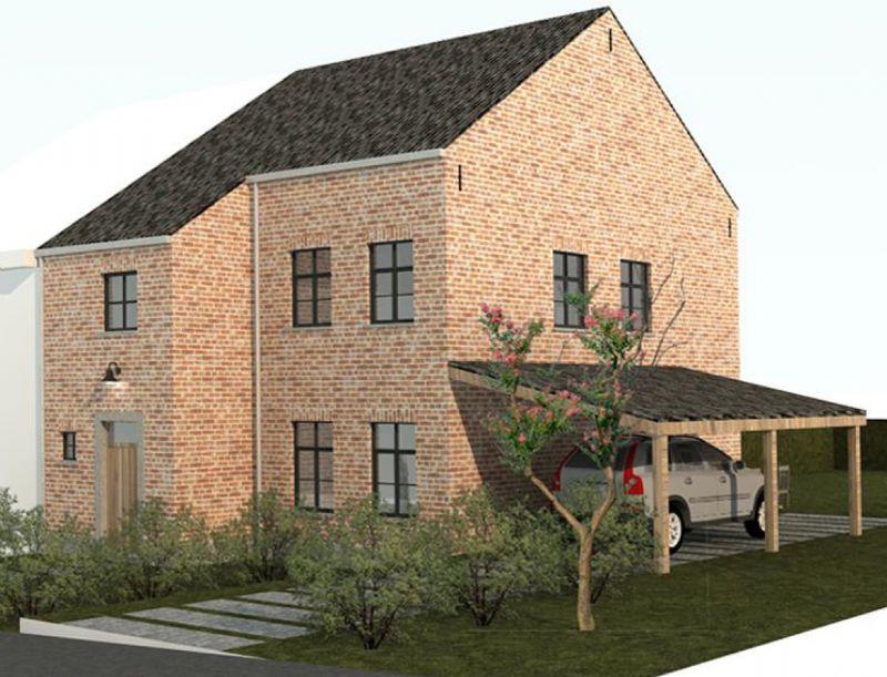 Sint-Kruis (Brugge): Nieuw te bouwen halfopen woning