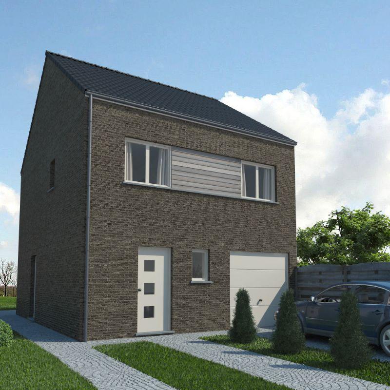 Moderne woning - 2 bouwlagen (Modern 10)