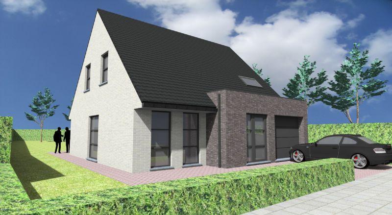 Deerlijk: Nieuw te bouwen alleenstaande woning