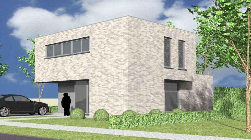 Gavere-Asper: Nieuw te bouwen alleenstaande woning