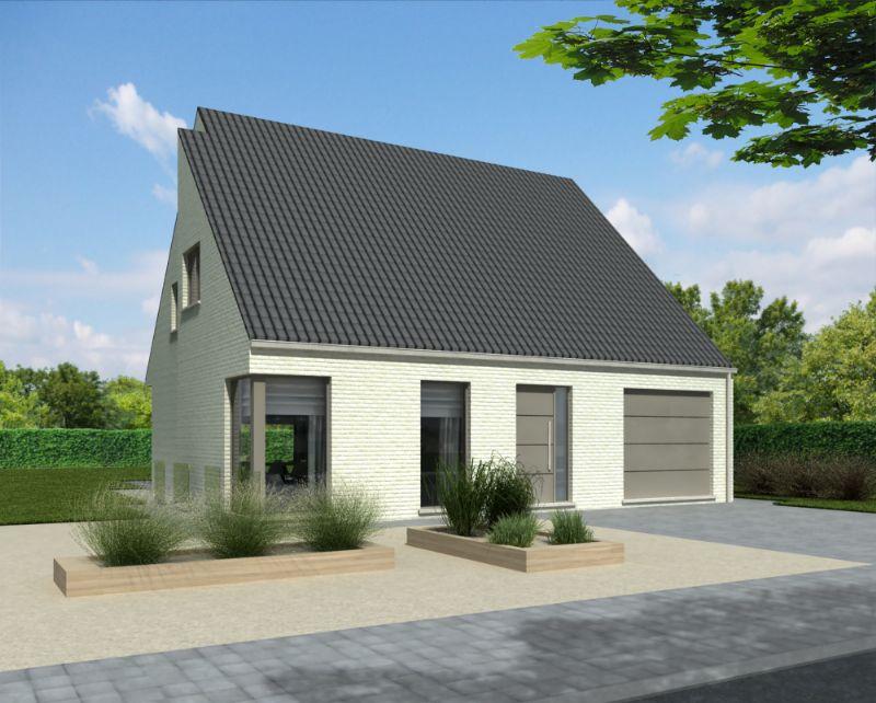 Zaffelare: Nieuw te bouwen alleenstaande woning