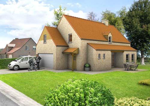 Oedelem (Beernem): Nieuw te bouwen alleenstaande woning