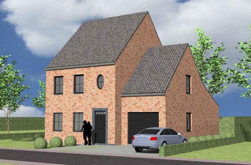 Oudenaarde: Nieuw te bouwen alleenstaande woning
