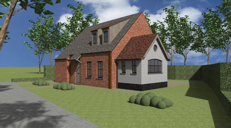 Pittem: Nieuw te bouwen alleenstaande woning