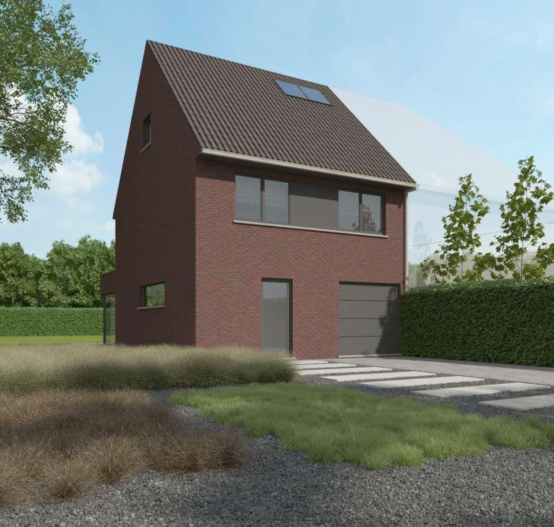 Kachtem: Nieuw te bouwen halfopen woning