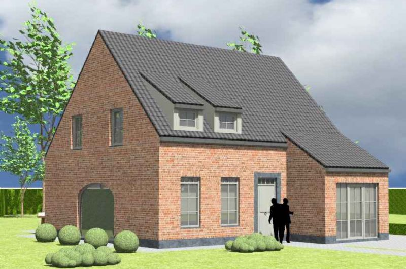 Markegem: Nieuw te bouwen alleenstaande woning